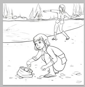 twinkle skipping stones